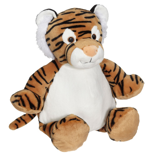 Embroider Buddy® Tiger Embroidered Personalised Stuffed Toy from Jageto Embroidery in Braintree, Essex UK