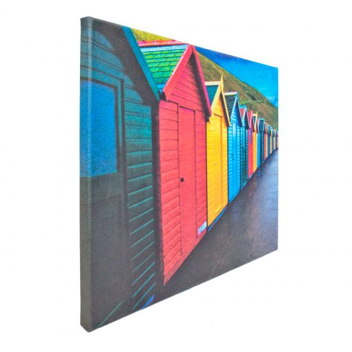Canvas Prints - Your Photos and Images Printed onto Canvas - Beach Huts Example