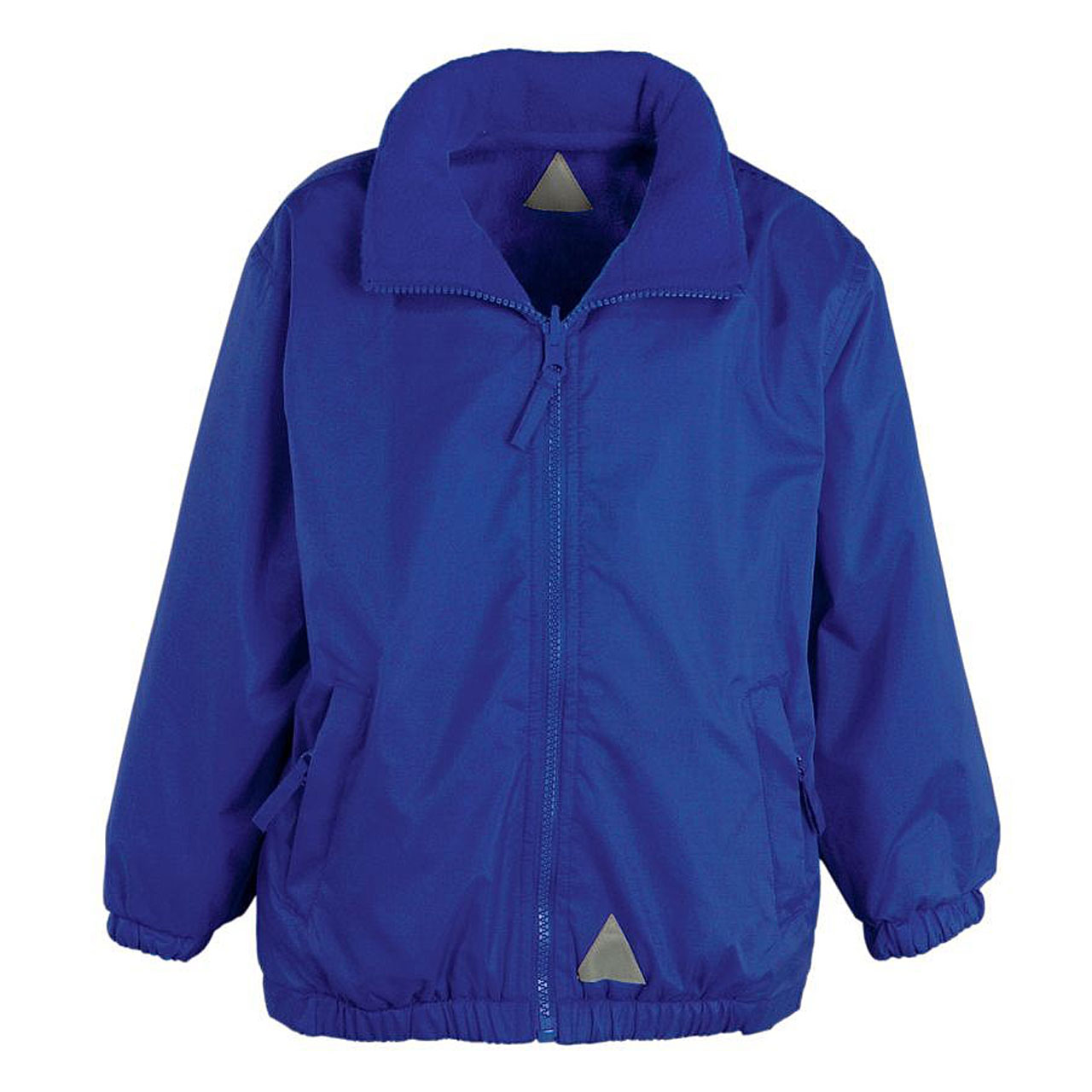 Embroidered School Reversible Mistral Jackets from Jageto Embroidery and Print in Braintree Essex in the UK