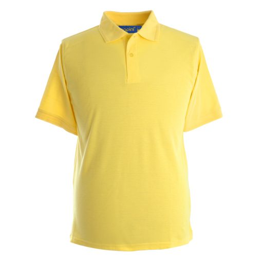 Embroidered Polo Shirts - Canary Yellow