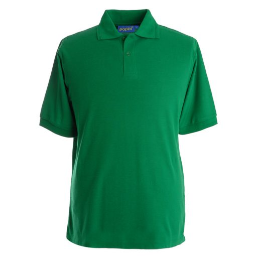 Embroidered Polo Shirts - Emerald Green