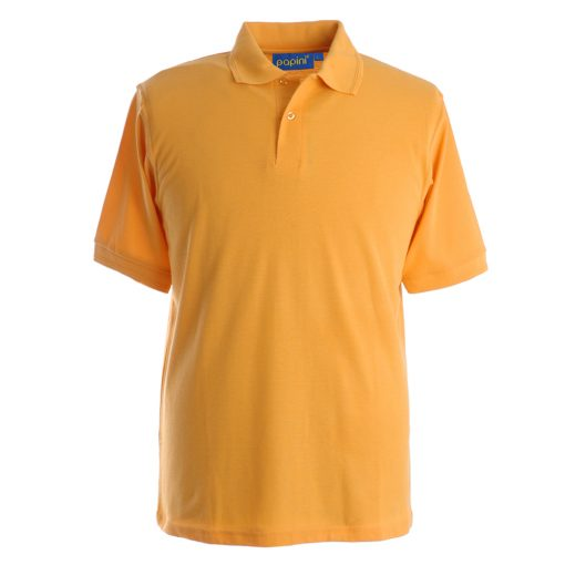 Embroidered Polo Shirts - Gold