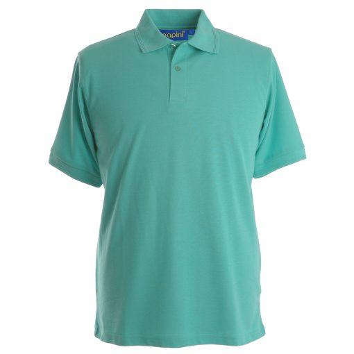 Embroidered Polo Shirts - Mint Green