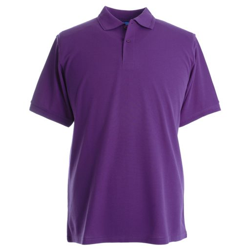 Embroidered Polo Shirts - Purple