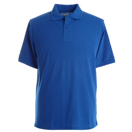 Embroidered Polo Shirts - Royal Blue