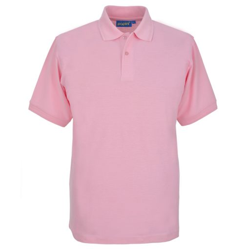 Embroidered Polo Shirts - Soft Pink