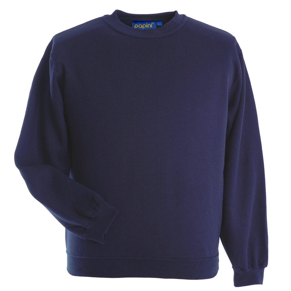 Embroidered Sweatshirts - Navy Blue from Jageto Embroidery and Print in Braintree Essex in the UK