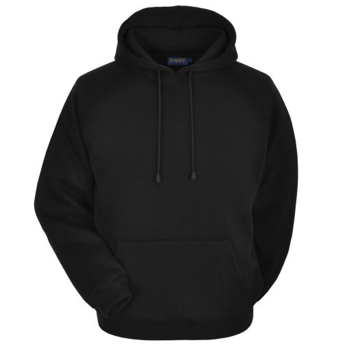 Black Embroidered Personalised Hoodie