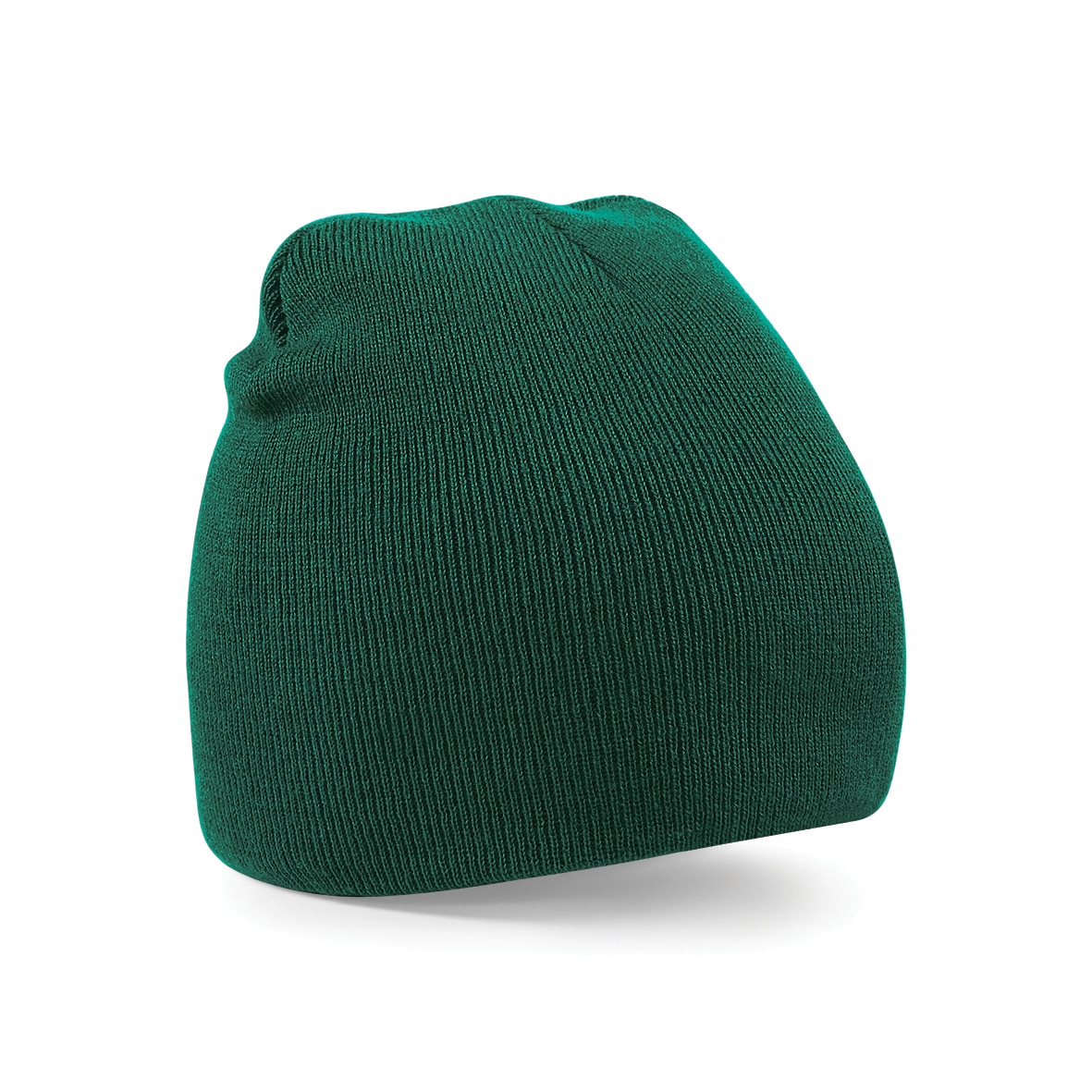 Bottle Green Embroidered Personalised Beanies from Jageto Embroidery and Print in Essex, UK