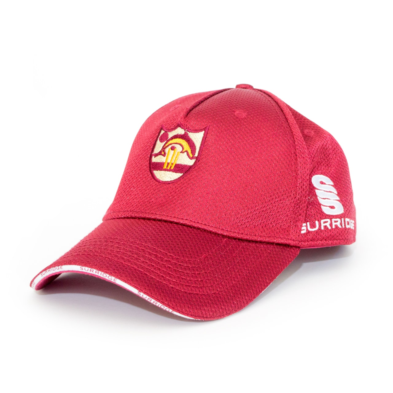 Red Embroidered Personalised Cap From Jageto Embroidery and Print in Braintree Essex in the UK