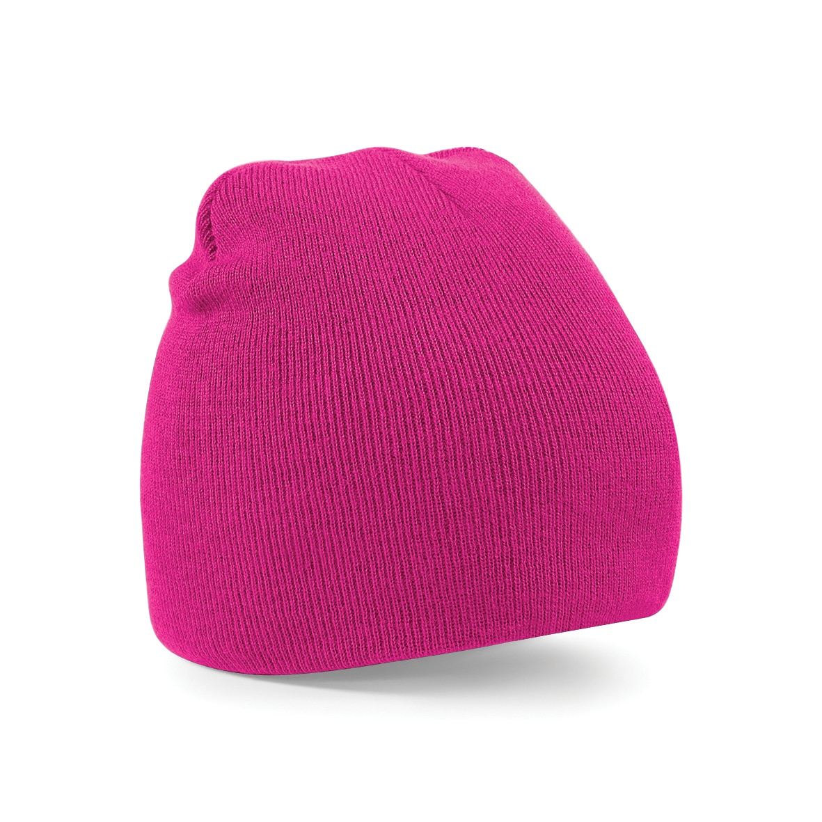 Fuchsia Pink Embroidered Personalised Beanies from Jageto Embroidery and Print in Essex, UK