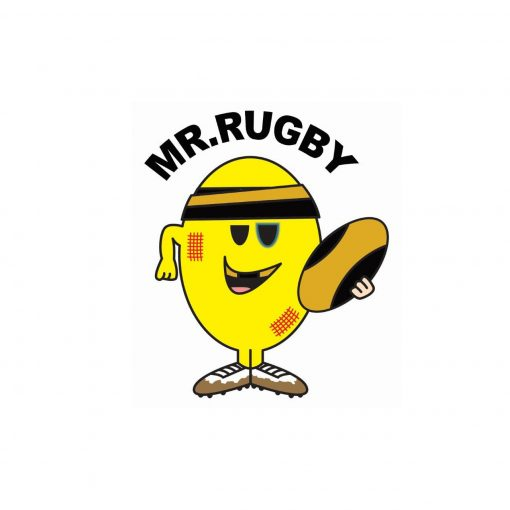 Fun and Funky Printed T-Shirts from Jageto Embroidery and Print in Braintree, Essex in the UK - Mr Rugby Printed T-Shirt