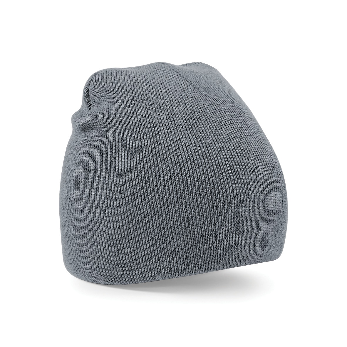 Graphite Grey Embroidered Personalised Beanies from Jageto Embroidery and Print in Essex, UK