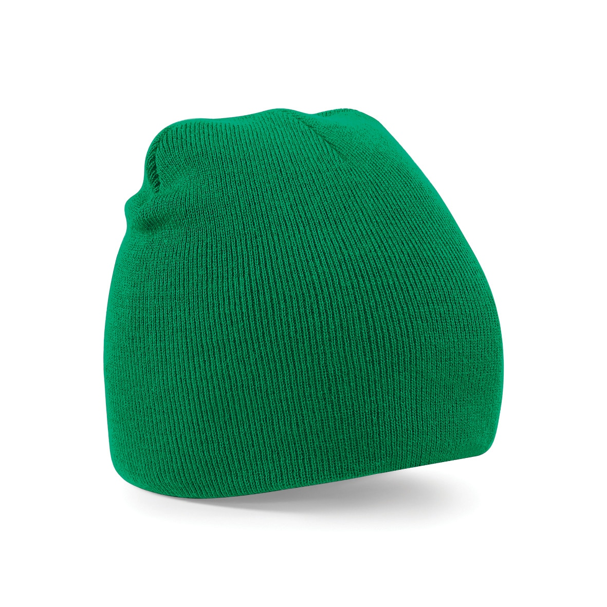 Kelly Green Embroidered Personalised Beanies from Jageto Embroidery and Print in Essex, UK