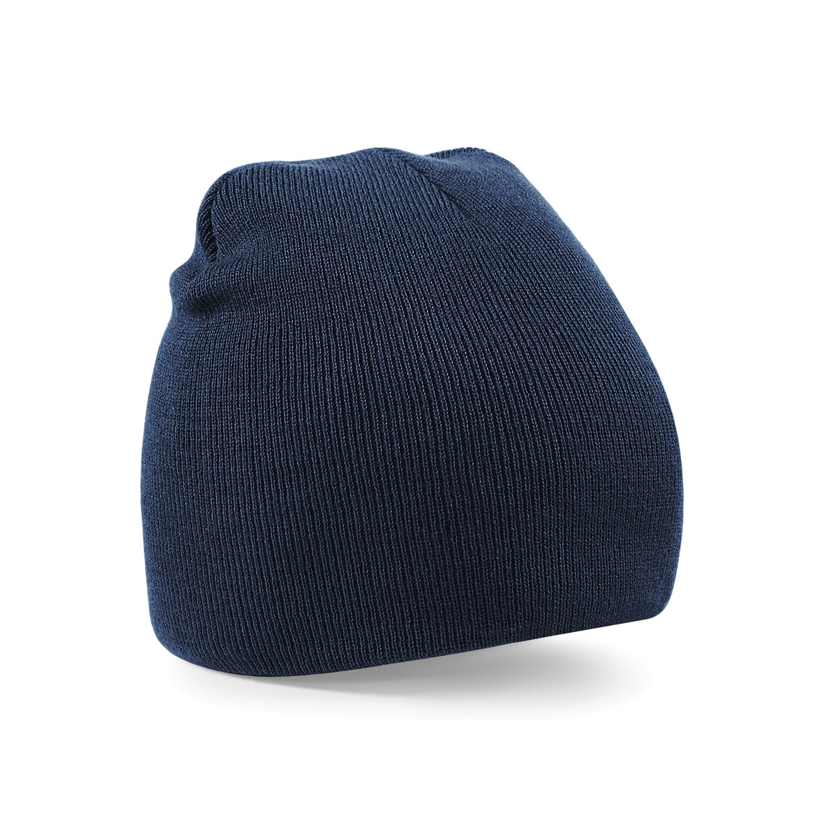 Navy Blue Embroidered Personalised Beanies from Jageto Embroidery and Print in Essex, UK