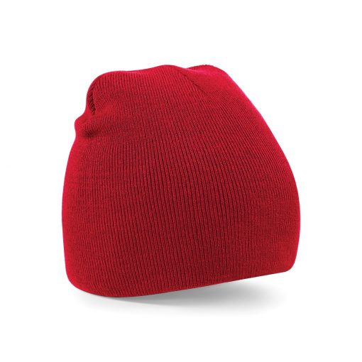 Red Embroidered Personalised Beanies from Jageto Embroidery and Print in Essex, UK