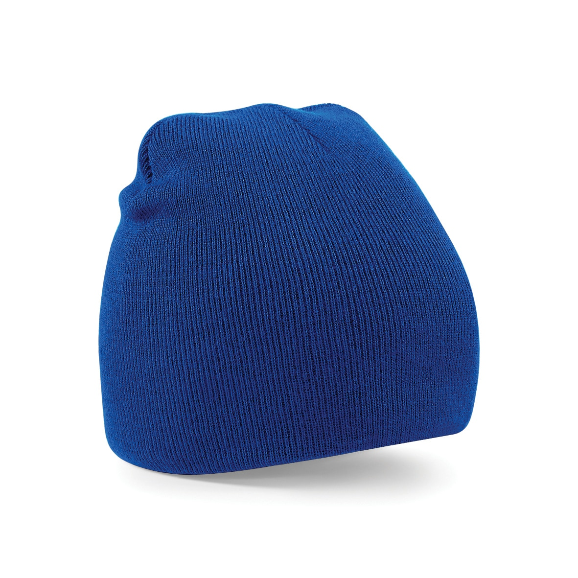 Royal Blue Embroidered Personalised Beanies from Jageto Embroidery and Print in Essex, UK