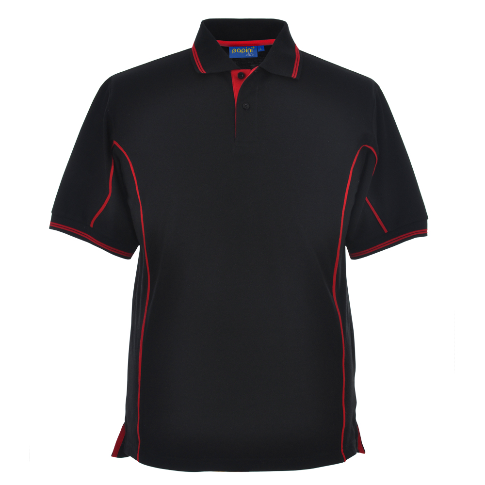 Elite Embroidered Polo Shirts - Sienna