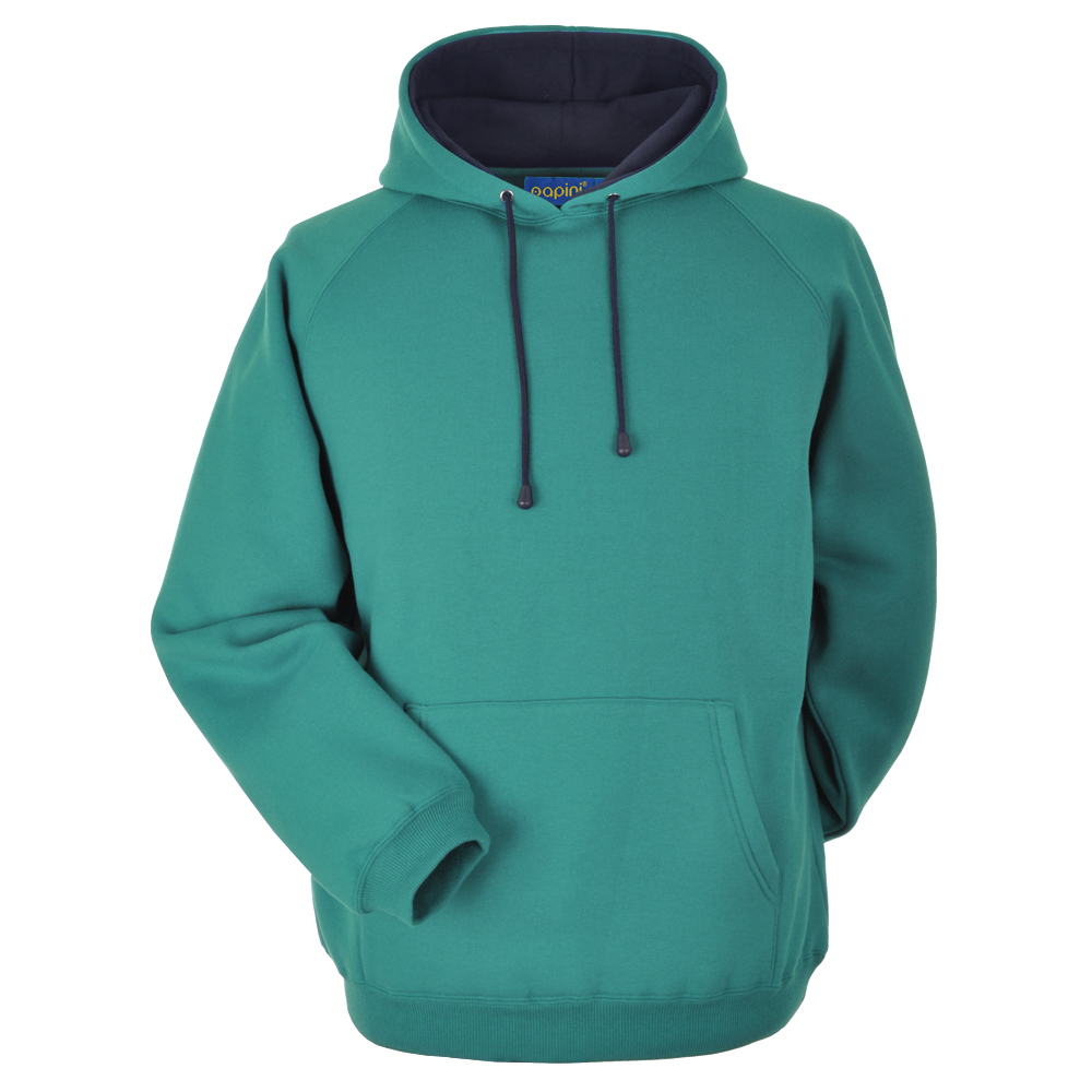 Teal and Navy Embroidered Personalised Hoodie