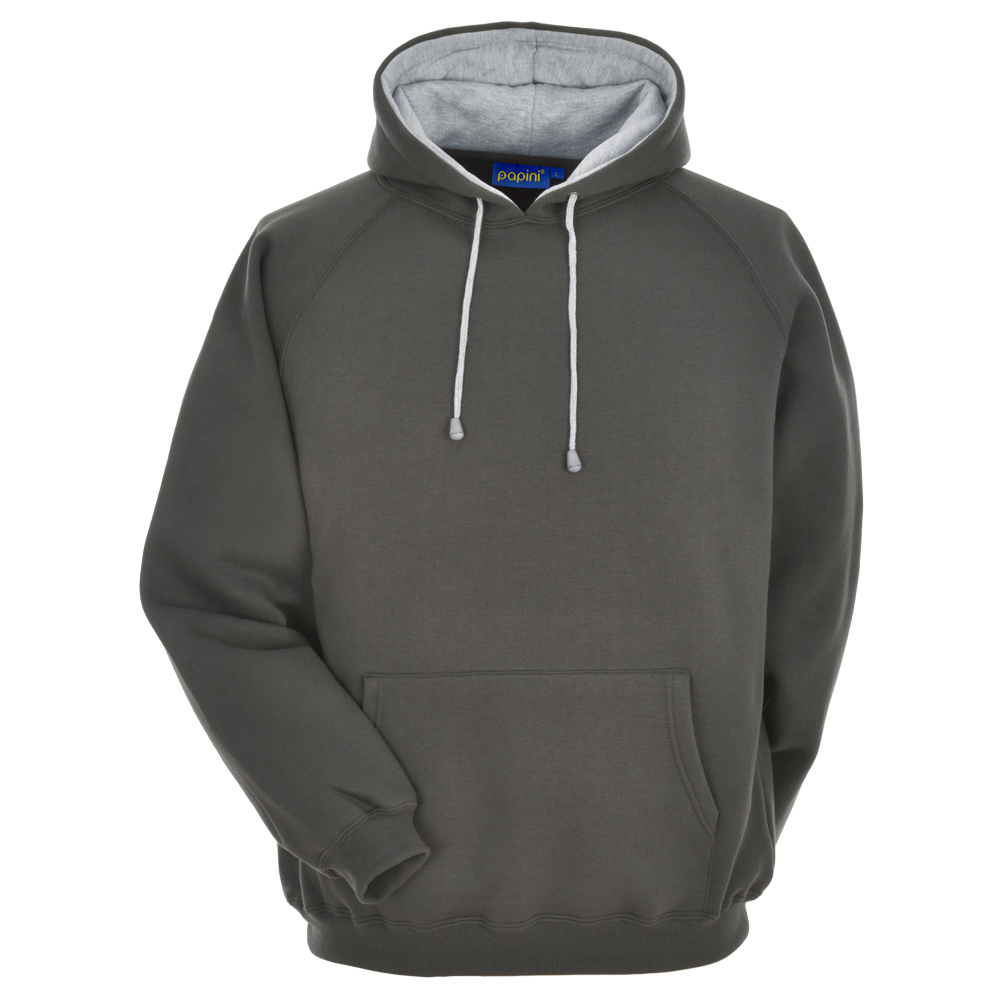 Titanium Grey Embroidered Personalised Hoodie