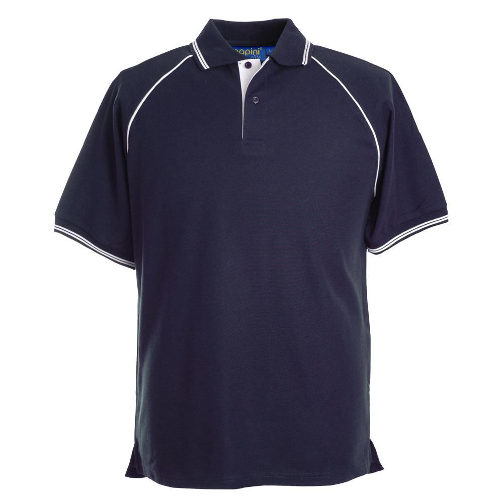 Elite Embroidered Polo Shirts - Torino