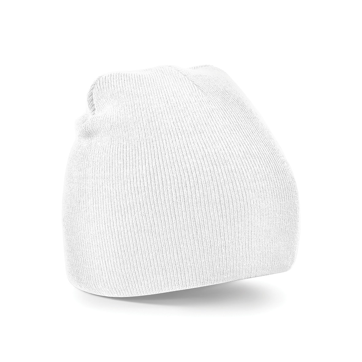 White Embroidered Personalised Beanies from Jageto Embroidery and Print in Essex, UK